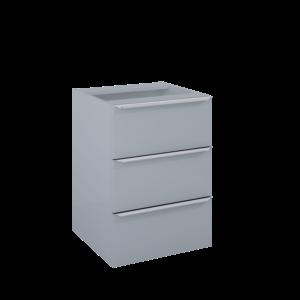 Komoda Elita Lofty 50 3S Light grey HG PDW 167304