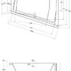 Zdjęcie Wanna asymetryczna lewa Besco Intima Duo 180×125 cm biały WAID-180-NL