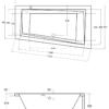 Zdjęcie Wanna asymetryczna lewa Besco Intima 150×85 cm biały WAIT-150-NL