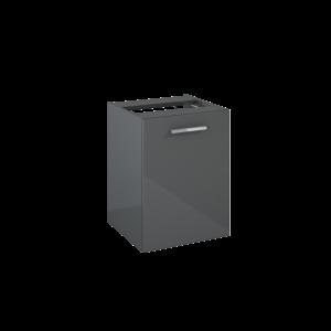 Komoda Elita Kwadro Plus 40 z koszem cargo Anthracite HG RLO4121 PDW 167637