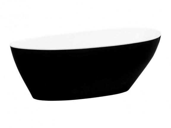 Wanna wolnostojąca Besco Goya B&W 160x70 cm inny WMD-160-GBW
