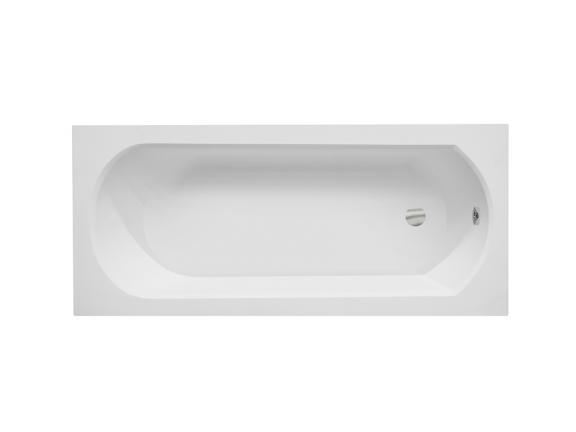 Wanna prostokątna Besco Intrica Slim 160x75 cm biały WAIN-160-SL
