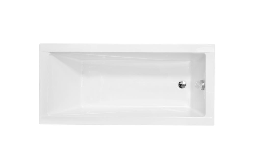 Wanna prostokątna Besco Modern Slim 170x70 cm biały WAM-170-SL