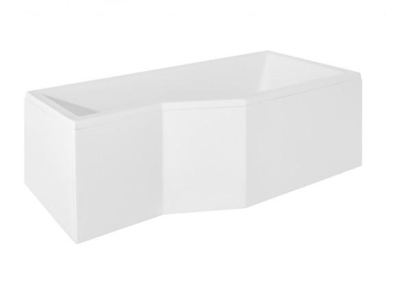 Zdjęcie Wanna asymetryczna prawa Besco Integra 170×75 cm biały WAI-170-PP