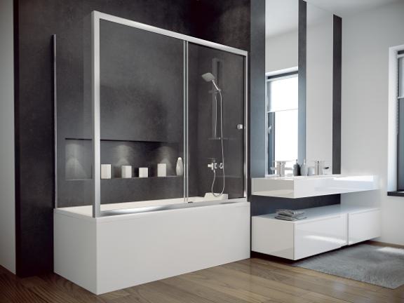 Panel boczny Besco Duo Slide II 70x150 cm biały PDS-II-70