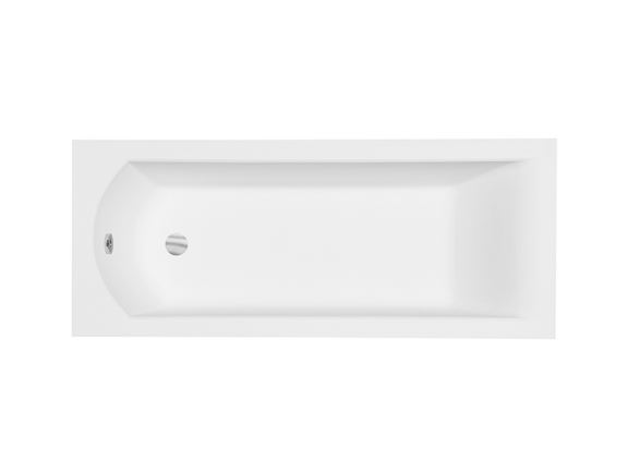 Wanna prostokątna Besco Shea Slim 170x70 cm biały WAS-170-SL