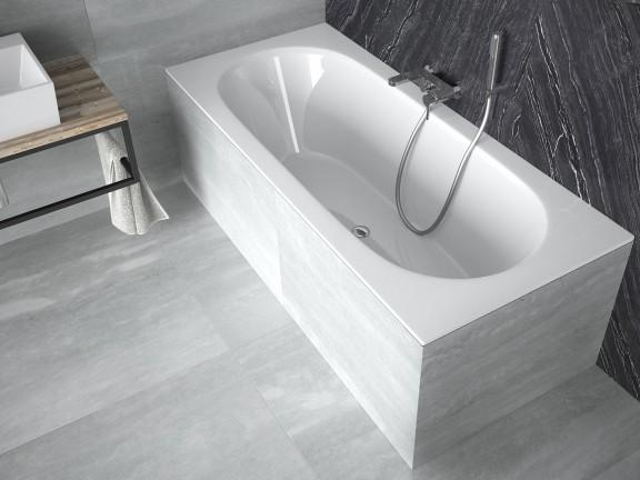 Zdjęcie Wanna prostokątna Besco Vitae Slim 150×75 cm biały WAV-150-SL