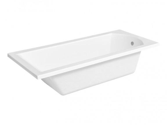 Zdjęcie Wanna prostokątna Besco Shea 180×80 cm biały WAS-180-PK