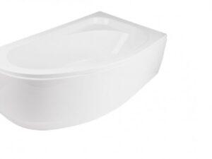 Obudowa wanna asymetryczna prawa Besco Cornea 150x100 cm biały OAC-150-NL