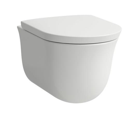 Miska WC podwieszana Laufen The New Classic 53x37 cm biały Rimless H8208510000001