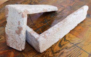Narożnik Ceglany Brześć Litewski 01 Stare Cegły - Płytki stylizowane na starą cegłę