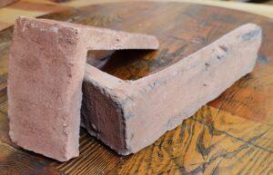 Narożnik Lico Kujawskie Stare Cegły - Płytki stylizowane na starą cegłę