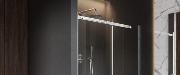 Zdjęcie Zestaw prysznicowo – wannowy podtynkowy Excellent Pi chrom AREX.SET.1245CR