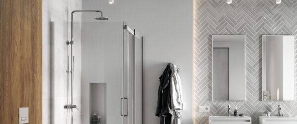 Zdjęcie Zestaw prysznicowy Excellent Pi chrom AREX.1281CR