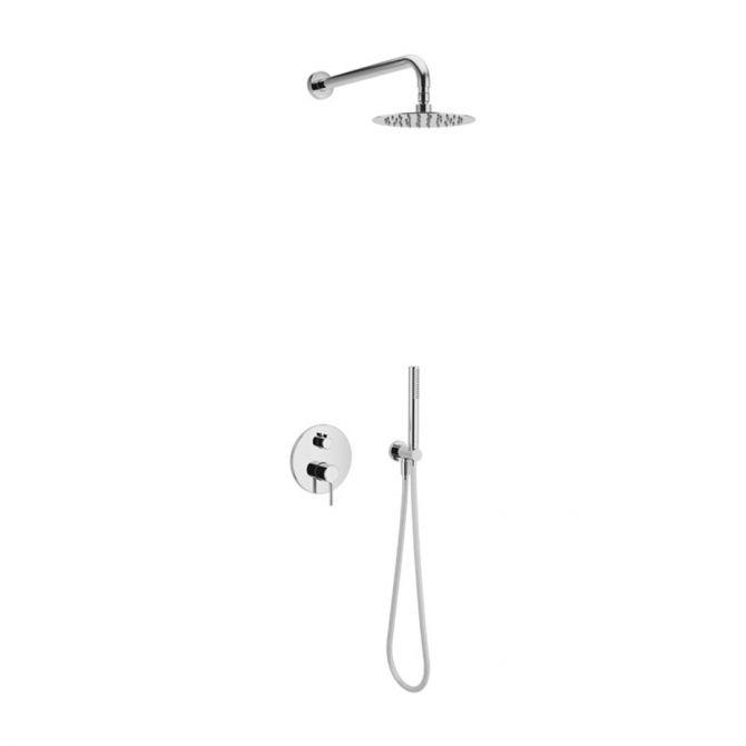 Zestaw prysznicowo - wannowy podtynkowy Excellent Pi chrom AREX.SET.1245CR