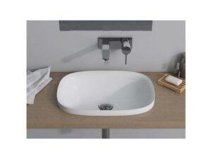 Umywalka wpuszczana w blat Marmite Noa 47x33 cm biały NOA0004