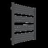 Zdjęcie Grzejnik łazienkowy Terma Marlin 78×43 cm RAL 9007 SX metaliczny grafit