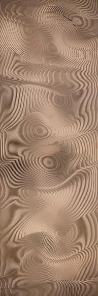 Inserto Paradyż Night Queen Copper Połysk 39,8x119,8 cm