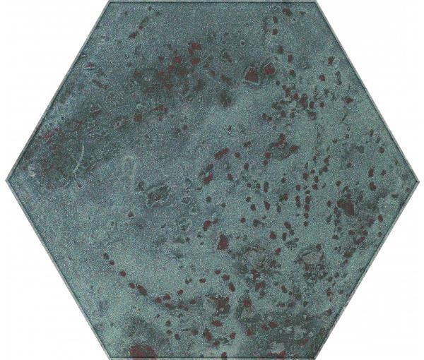 Zdjęcie Inserto szklane Heksagon Paradyż Unique Lady Green 19,8×17,1 cm