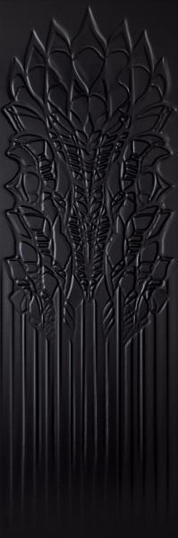 Płytka ścienna Paradyż Cold Crown Black Struktura 39,8x119,8 cm