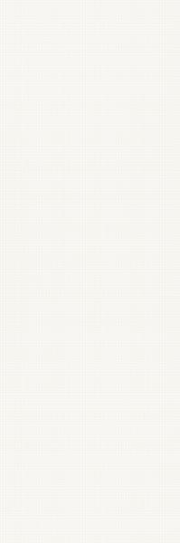 Zdjęcie Płytka ścienna Paradyż Paradyż Noisy Whisper White Dekor 39,8×119,8 cm