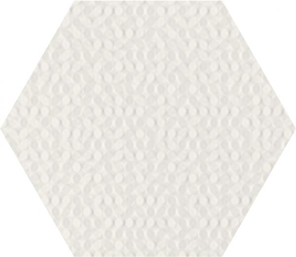 Zdjęcie Płytka ścienna Paradyż Paradyż Noisy Whisper White Struktura 19,8×17,1 cm
