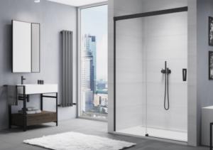 Drzwi prysznicowe lewe rozsuwane SanSwiss Cadura 110x200 cm CAS2G1100607 @