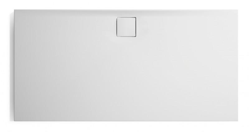 Brodzik kwadratowy konglomeratowy Huppe EasyFlat 90x90 cm biały EF0101055