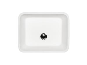 Umywalka wolnostojąca grafitowa Besco Assos Glam 40x50x85 cm grafitowy UMD-A-WOG