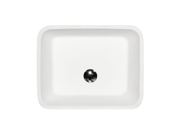 Umywalka wolnostojąca złota Besco Assos Glam 40x50x85 cm złoty UMD-A-WOZ