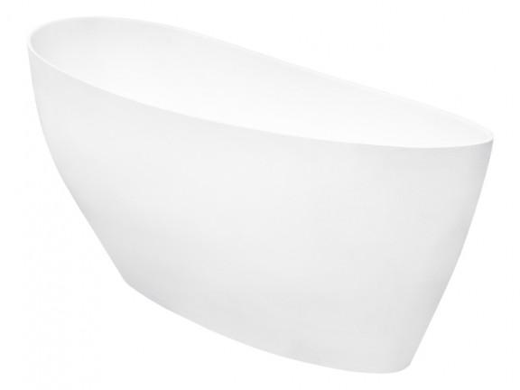 Zdjęcie Wanna wolnostojąca Besco Keya 165×70 cm biały WMD165-K
