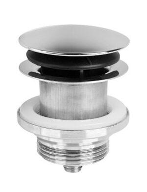 Korek do umywalki lub bidetu click-clack McAlpine 1.1/4 Chrom CWP60-CB