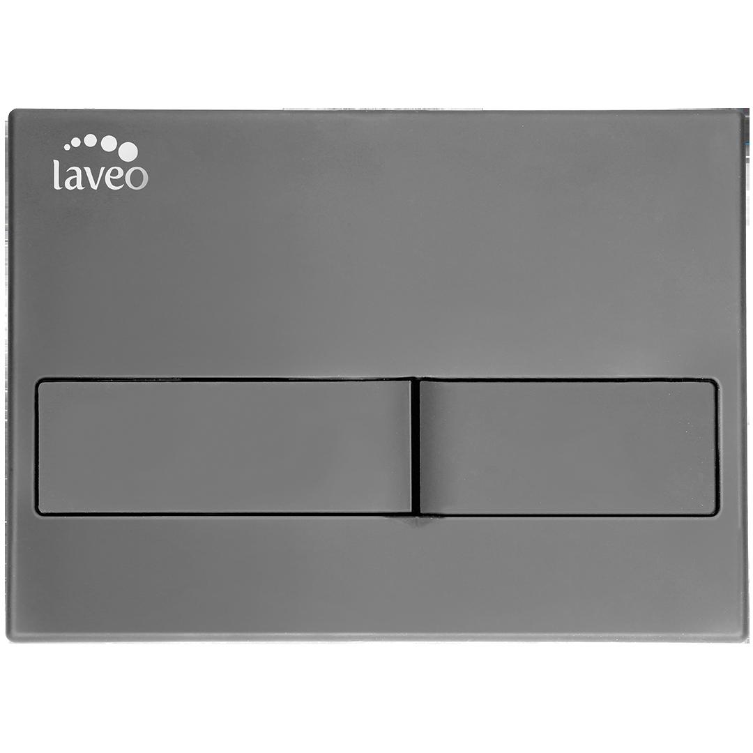 Przycisk do stelaża Laveo Beni grafit VPB_995V