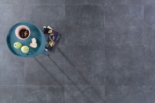 Zdjęcie Płytka podłogowa Nowa Gala Pierre Bleue PB 14 grafitowy półpoler 59,7×59,7 cm